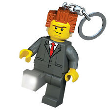 LEGO MOVIE THE PRESIDENT LED Keylight Keyring - Boxed Keychain Bag Clip Figure