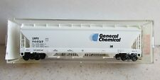 *MICRO TRAINS ~ GENERAL CHEMICAL 3-BAY COVERED HOPPER # 944569 ~ N SCALE