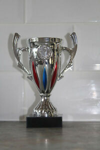 FREE ENGRAVING Silver Trophy Cup Competition Awards All Sports Awards