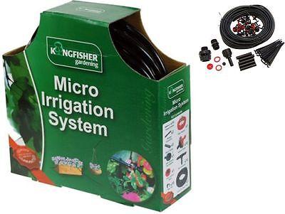 MICRO IRRIGATION SYSTEM HANGING BASKET WATERING KIT SET 23M GREENHOUSE GARDEN