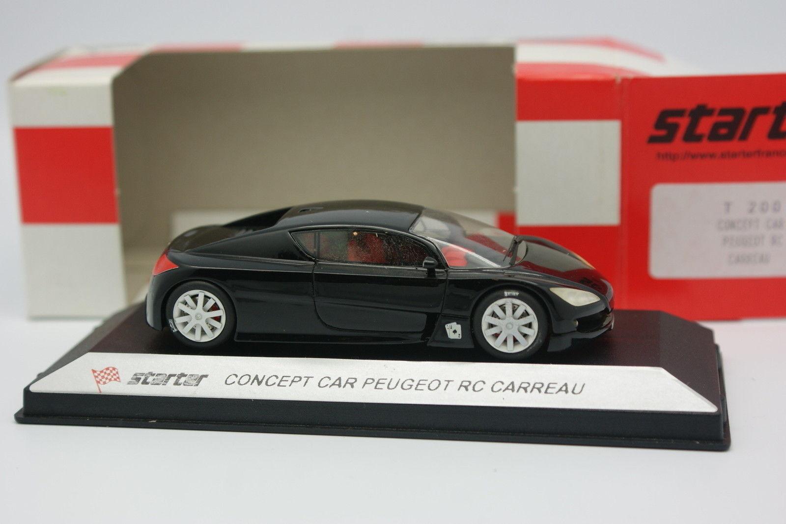 Starter 1 43 - Peugeot Concept Car RC Check
