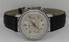 Vintage Wakmann Hand-Winding Chronograph Stainless Steel 37mm Valjoux7730 Watch