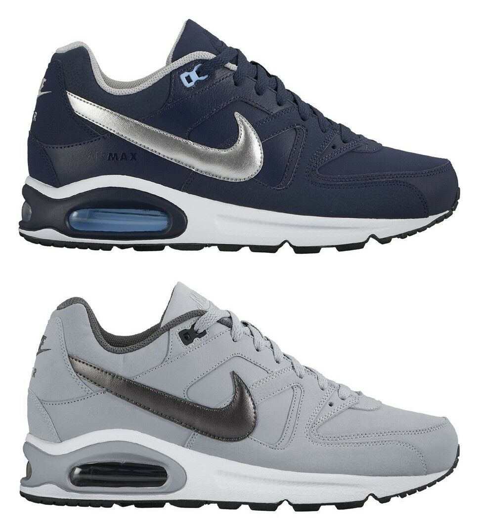 NIKE AIR MAX COMMAND leather men's shoes sports casual sneakers leather run men