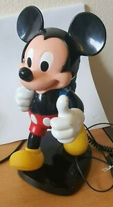VINTAGE-MICKEY-MOUSE-BACKPACK-TELEPHONE-by-TYCO-GOOD-WORKING-ORDER