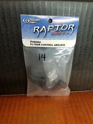 Raptor Flybar Control Arm, R30 Pv0002 Up-To-Date Styling