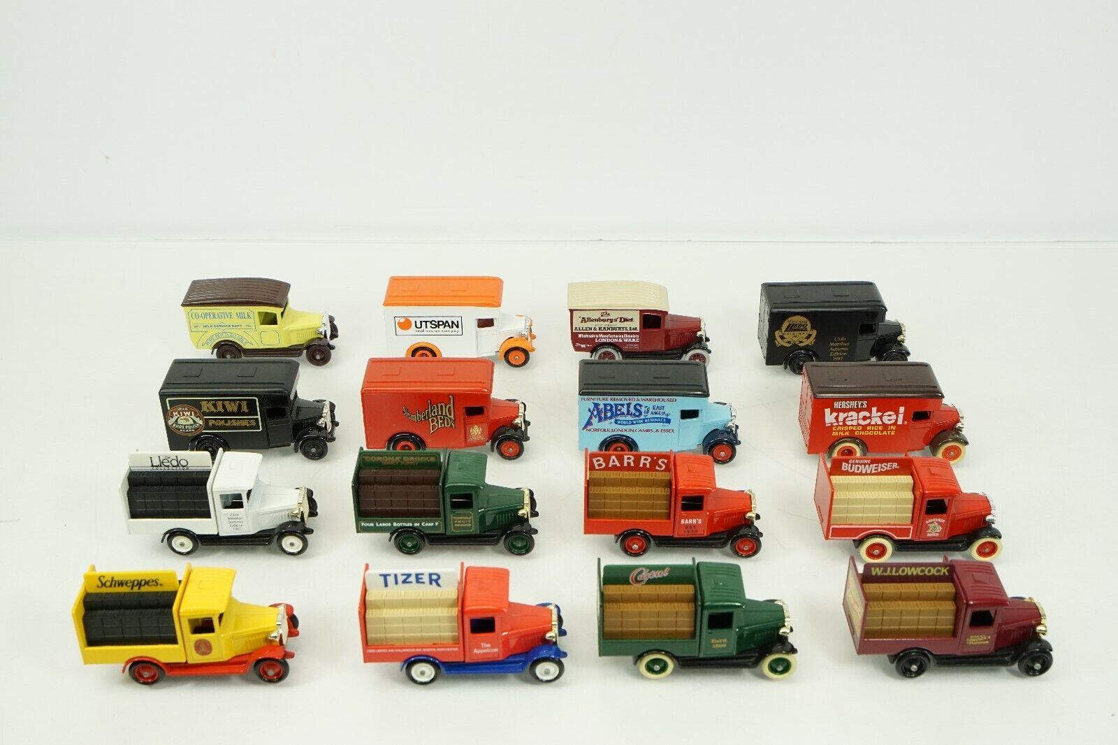 Lledo Days Gone Promotional Die Cast Model Lot of 16 Tizer Castrol Schweppes B62