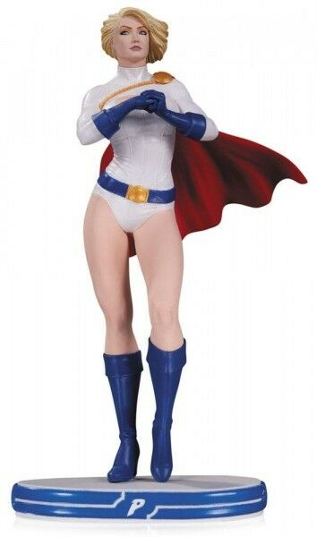 DC Comics Cobertor Mujer estatuilla Power Girl 25 cm estatua edición limitada