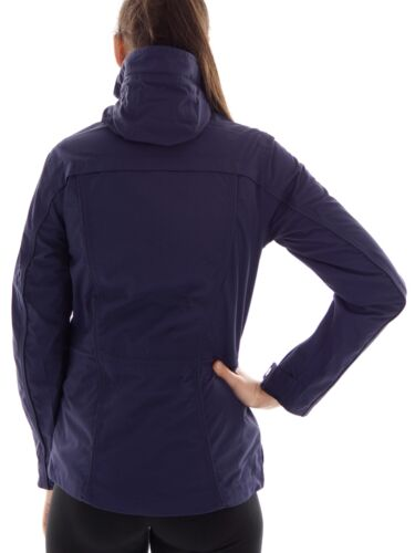 CMP Parka Funktionsjacke Übergangsjacke blau Zipper ClimaProtect®