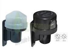 Photocell Outdoor Light Switch Daylight Dusk till Dawn Sensor Lightswitch, timer