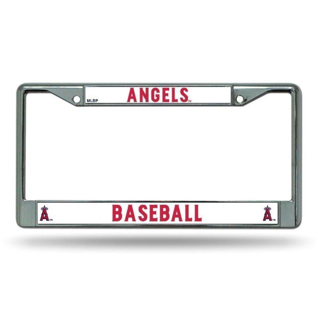 Los Angeles Angels of Anaheim Chrome License Plate Frame   eBay