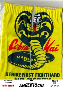 Cobra-Kai-Dojo-Karate-Kid-80-039-s-Movie-Adult-Ankle-Socks