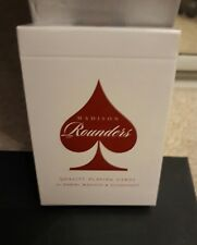 Daniel Madison Scarlett Red Rounders Playing Cards Ellusionist Rare