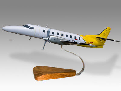 Collectables Cooperative Fairchild Sa-227ac Metro Iii Air Class Dhl Solid Handmade Airplane Desktop Model