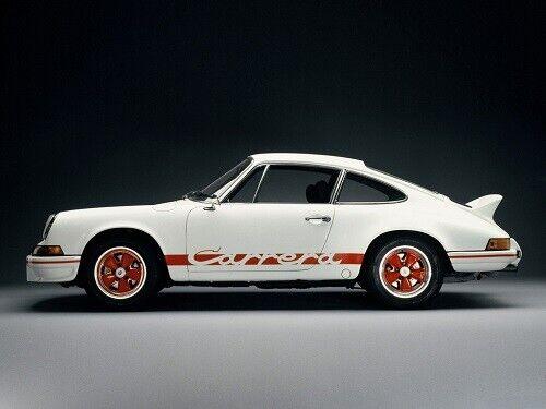 A3 PORSCHE 1973 911 CARRERA RS 2.7L ADVERT POSTER BROCHURE PICTURE ART PRINT