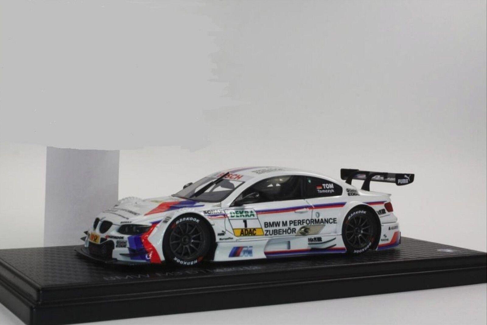 // BMW m3 DTM 2012 1:43 // M Performance ACCESSORI  1 Martin Tomcyk Nuovo/Scatola Originale