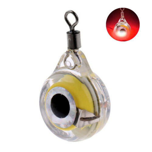 Outdoor Mini LED Flashing Underwater Squid Light Lamp Bait Lures Fish Attraction