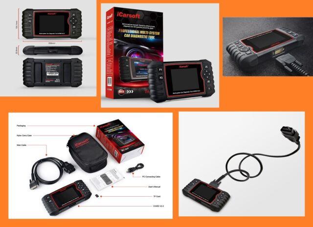 Maleta de Diagnóstico Coche Icarsoft Vaws V2.0 Pour Audi / VW/Seat/Skoda