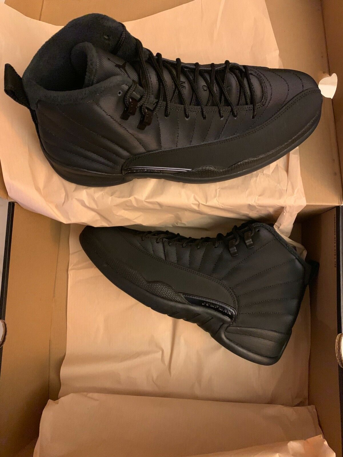 Air Jordan Retro 12 Dimensione 11 nero Brand New In In In Box 9c3dcb