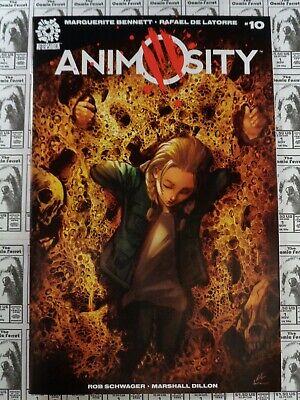 AnimOsity #1 Aftershock Comics Variant Exclusive 2016 Bennett De Latorre