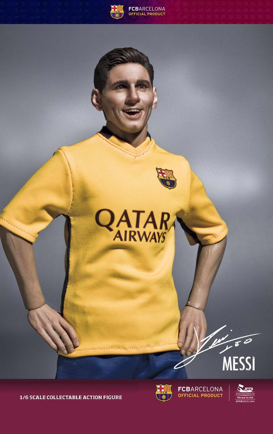 1 6th Scale ZCWO FCBarcelona 2015 16 - Messi  (Away Kit)  détaillant de fitness