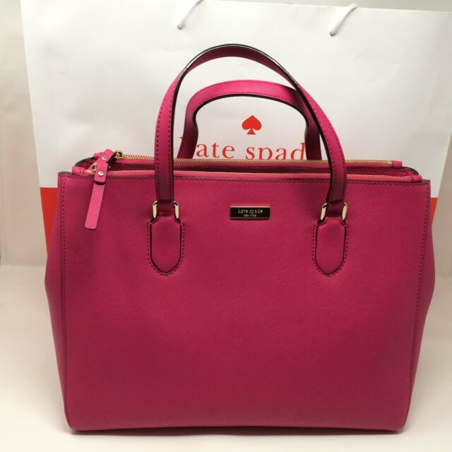 Kate Spade Leighann Laurel Way Lane Satchel Shoulder Bag Handbag Purse