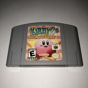 VGC-Kirby-64-The-Crystal-Shards-AUTHENTIC-Nintendo-64-N64-Video-Game-Kids-Fun