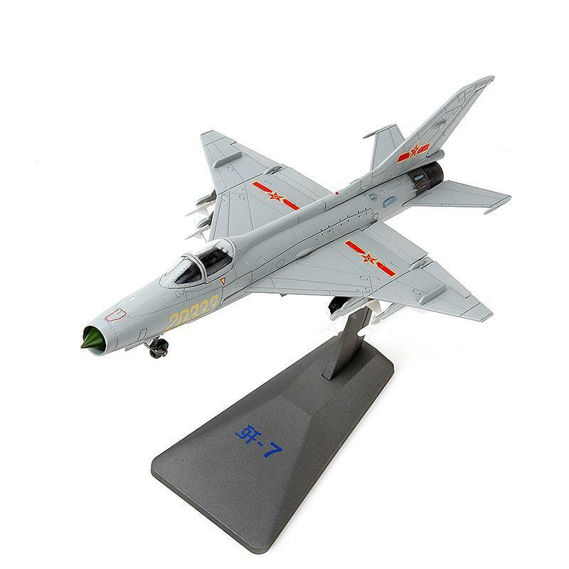 1 48 Scale Scale Fishbed Chengdu J-7 Fighter Military Bomber Aircraft Model Jet