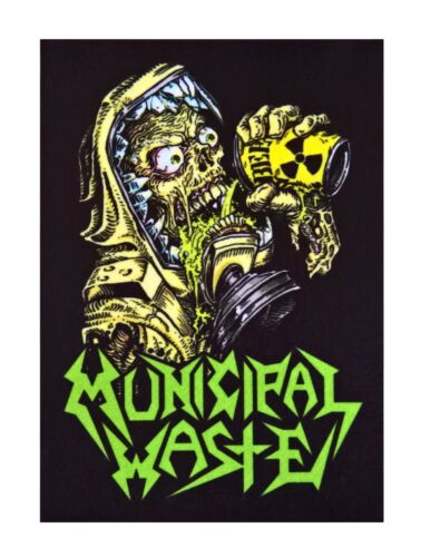 Municipal Waste patch DIY sew on printed patches thrash metal heavy punk rock