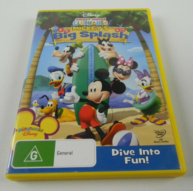 Mickey Mouse Clubhouse - Mickey's Big Splash (DVD, 2009) - R4 PAL