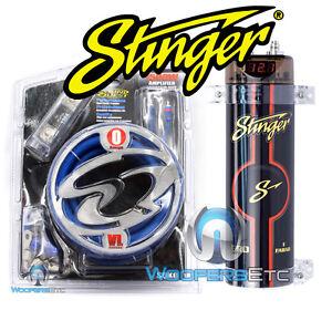 s l300 pkg stinger cap spc111 digital capacitor 0 gauge amplifier