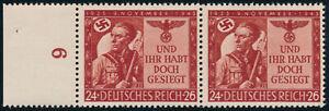 DR-1943-MiNr-863-I-tadellos-postfrisch-gepr-Schlegel-Mi-80