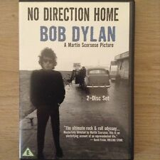 NO DIRECTION HOME: BOB DYLAN  Dir. Martin Scorsese  2 DVD set  204 minutes