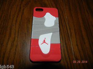 MIP-3D Air Jordan Red n Grey Sports Shoe Sole Case Cove