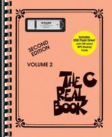 The Real Book Volume 2 Sheet Music C Edition Book Usb Flash Drive Pack 000204131
