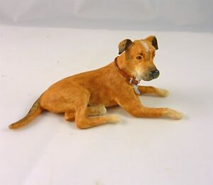 Dollhouse-Miniature-Large-Mixed-Breed-Dog-Down-A4333