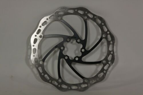 Promax Disc Brake Rotor 180 mm /& 6 Torx bolts Black #7
