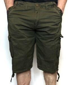Men-039-s-Premium-Long-Cargo-Shorts