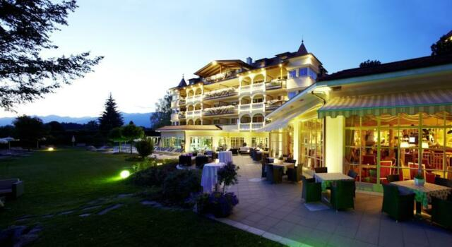 7t corto wellness vacaciones en el hotel el Majestic 4 estrellas superior en el Tirol del Sur