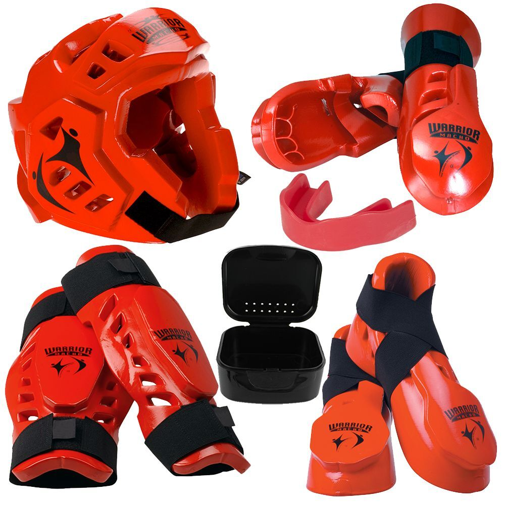 Warrior Sparring Gear Set   Red  wholesale price and reliable quality