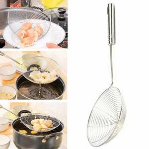 Küche Seiher Scoop Löffel Gekochte Lebensmittel Sieb Pasta Gemüse/_Abtropffl L2T0