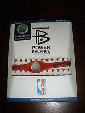 Authentic NBA Power Balance Silicone Wristband - Chicago Bulls - Medium