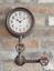 Industrial-Style-Pipe-Wall-Clock-Retro-Vintage-Metal-Steampunk-Urban-Warehouse thumbnail 1