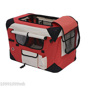 Christmas-Sale-Folding-Soft-Dog-Crate-Cage-Kennel-Pet-Cat-Carrier-House