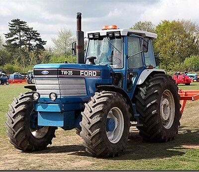 Business & Industrial Ford TW5 TW15 TW25 & TW35 Tractors Workshop ...