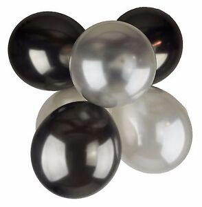 paquet-of63-5cm-30-5cm-latex-perle-noir-argente-ballons-mariage-fete-helium-air