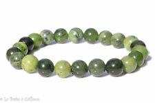Bracelet jade vert du Canada (boules 8mm)