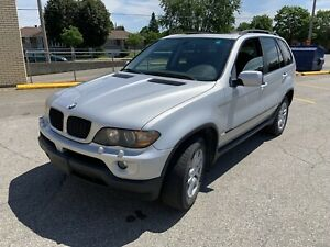 2006 BMW X5 / 3.0i / 170 000 km / 5000$ NO TAXES 514-649-5161