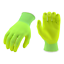 HI-VIS Yellow Nitrile Micro-Foam Coated Gloves Size XXL 3 Pair