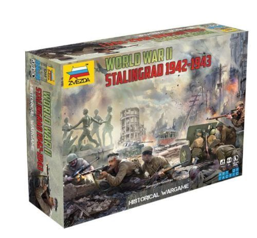 Zvezda 6260 WARGAME Art of Tactic STALINGRAD 1942-43 World War II