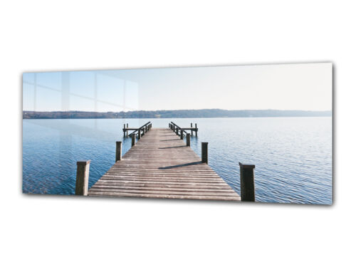 Verre Imprimer Wall Art 112x45 Cm Image sur Verre Déco Mur Photo 122956810
